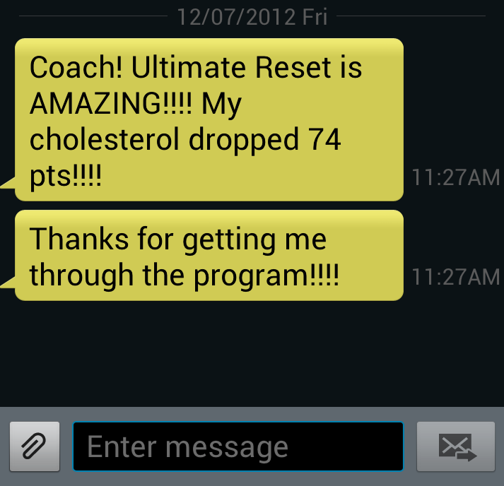 Client Ultimate Reset Results